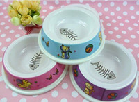 Wholesale Pet food bowl Dog bowl Pet supplies Cat bowl