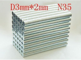 Wholesale 400 pack super Powerful n35 NdFeB disc magnet Neodymium Magnets mm