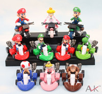 "Retail Super Mario Bros Kart PullBack Cars 2"" figure To..."