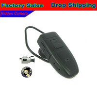 Wholesale Blutooth Earphone Shaped Spy Hidden Camera dvr Recorder With GB Memory