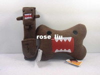 Wholesale Domo Kun DOMO KUN cartoon shoulder pad sets car baby seat belt shoulder pad sets pillow sets