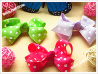 Wholesale 30pcs color inch Baby Bowknot Butterfly Hair Bows Baby s Headwear Kid s Hair Accessories