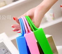 Wholesale Best selling Fashion silicone handbag satchel environmental shopping bag silica gel bag purse