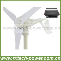 Wholesale GHJA288 w max Wind turbine generator V with wind controller for wind power system use
