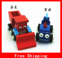 Wholesale Lovely Mini Dump Truck Bulldozer Rolling Road Car Mixer Truck Crane Baby Toys Xmas Gifts