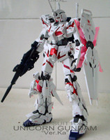 Wholesale Unicorn Gundam RX high MG005 Ver Ka Scale MG Model Kits Action Figures Gundam Figure TT sky