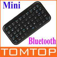 Wholesale christmas Mini Keyboard Wireless Bluetooth keyboard C871B For PS3 tablet cell phone slim design