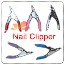 Wholesale NEW manicure tool edge cutter clipper Color shear skin cuticle spoon pusher False