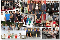 one direction posters - 040 One Direction Music Group Silk Canvas Poster Star poster hot Art Decorative Painting x13 quot