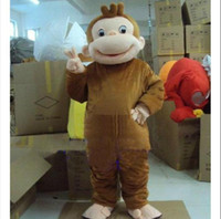 Roller Monkey Curious George Monkey Costumes Mascot Costumes...