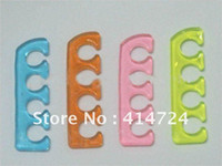 Wholesale Reusable silicone toe separator for profession nail art