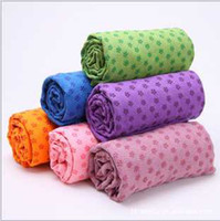 Wholesale Health Care Skidless Yoga Towel Yoga Mat Non slip Yoga Mats for Fitness Yoga Blanket
