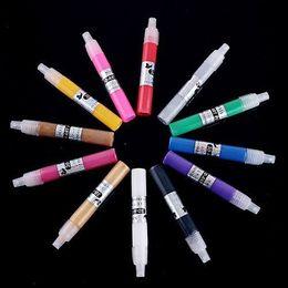 Wholesale UV Gel Acrylic Design D Paint Nail Art Pen NailPolish Different Colors Nail Polish HB4407 Free S