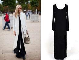 Wholesale Ladies Autumn Slim Long Sleeve Bottoming Shirtt Long Dress