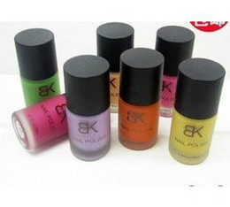 Wholesale Frosted matte nail polish ml color