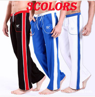 Wholesale Men s Low Rise Casual Sport Sweat Pants Training Baggy Jogging Long Trousers
