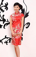 Wholesale Chinese sexy cheong sam dress sexy wedding cheongsam sexy cheongsam dress color elegant cheongsams