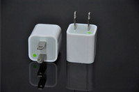 Wholesale Travel Wall Charger US Plus Adapter for iphone G GS iphone S ipod Touch Nano