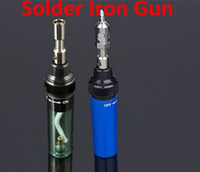 Wholesale Jet Flame Gas Blow Torch Soldering Solder Iron Gun Butane Welding Burner Pen Tools