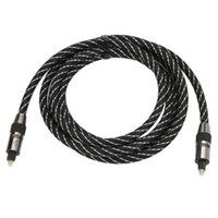 Wholesale 1 M Optic Fiber Cable to Plastic Optical Digital Audio Cable Black White