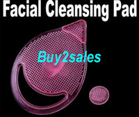 Wholesale Pink Silicone Soft Facial Care Cleaning Cleansing Pad Blackhead Remover Brush