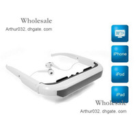 Wholesale New inch Jumbo Size Virtual Screen iWear Dynamic Video Glasses Eyewear for iPhone S G iPad3