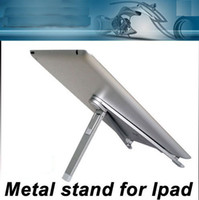 universally For Ipad free cize New Folding Portable Aluminium Metal Desk Stand Holder for iPad 2 Galaxy Tablets