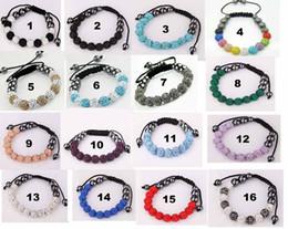 Hot 10MM Disco pave Balls CZ Crystal 100pcs Bracelets