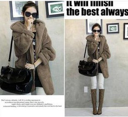 Wholesale 2012 Women s Wool blend Coat Outerwear Winter Plus Size Warm Thick Coats Clothing With Hat colors