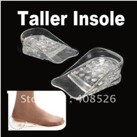 Wholesale Fashion Hot Comfortable Layers Lift Gel Silicone Shoe Insole Adjustable Height Increase Taller