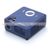 Wholesale New Portable Multimedia Projector WVGA Pocket Projector Iphone Ipad Compatible