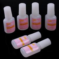 Base coat Gel   5Bottles 10G Nail Colour randomly Nail Gel ACRYLIC French Art Nail Glue For Fake Nails