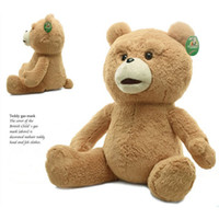 Wholesale retail Ted Bear Plush Toys American movies teddy bear with style lovely children Christmas gift