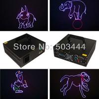 animation laser system - 2W animation laser stage lights dj disco lighting laser light show system Support SD card