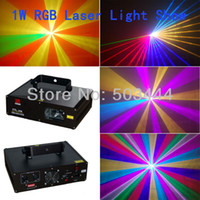 Blue 1w laser - Brand new W full color stage laser show equipment