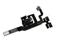 Wholesale Audio Jack Volume Power Flex Cable Replacement for i phone S GS white or black