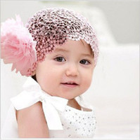 Wholesale Retail Headband Flower Baby Gilrs lace Headbands Kids Hair Ornaments Girl s Lace Headwear HB052