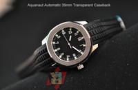 Men's Mechanical Automatic Black Luxury Mens Watch Aquanaut Black Dial Sapphire Steel Automatic Rubber Sport Men's Mechanical Watches
