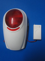 Light Siren auto security light - Wireless Strobe Light Siren for Wireless GSM Auto Security Alarm System Mhz or Mhz S165