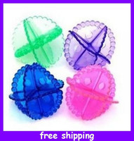 Wholesale Washing Laundry Dryer Ball Soften Cleaner bulk use Housekeeping Supplies