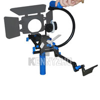 Wholesale Universal DSLR Rig Movie Shoulder Kit mm Rail Rod F0 Follow Focus For Canon Nikon