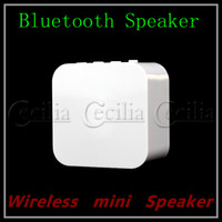 Wholesale Portable Wireless Speaker for iPad iPod iPhone Mini Style White