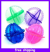 Wholesale Household Sundries Washing Laundry Dryer Ball Soften Cloth No chemicals washing ball cleaning ball