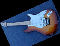 Wholesale best New New Professional custom ST Electric Guitar sunburst OEM Musical Instruments
