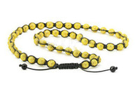 South American iced out jewelry - forefront fashion mm Mens Bead Disco Ball Bead Buddhist Necklace Jewelry Iced Out Chain