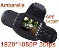 Wholesale 1920x1080p fps Full HD car camera Car DVR V660 V2000GS MP Support GSP logger G sensor H