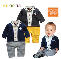 Christmas Unisex Long Sleeve cool baby rompers infant bodysuits boys one-piece 2 colors long sleeve overall baby clothes C325