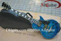 6 Strings china direct - Factory direct sales Custom Shop blue Tiger electric guitar China Guitar