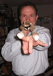 Wholesale Monkey screaming flying slingshot monkey plush toy gift