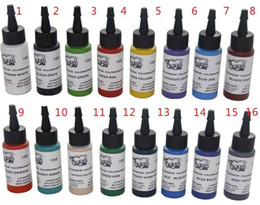 Wholesale Tattoo Supply Ink Pigment Complete set Colors ml MOM Tattoo Ink Set For Tattoo Kit Supply